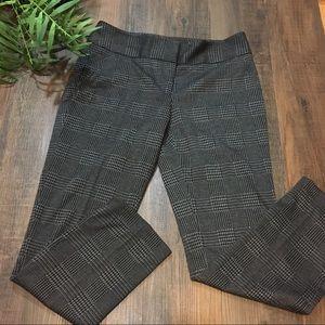 Vince Camuto plaid work pants